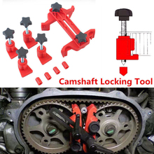 5 Pcs Universal Cam Camshaft Lock Holder Car Engine Timing Locking Tool Set Automotive Belt Disassembly Tools Kit