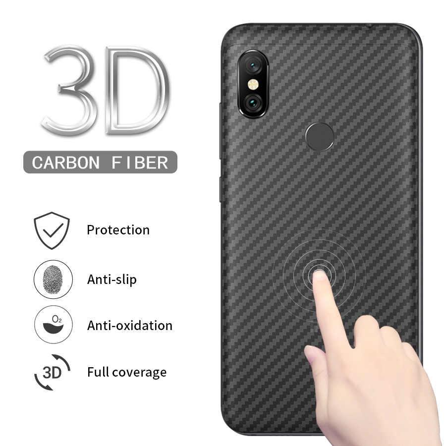 10 шт углеродного волокна Экран протектор для Xiaomi mi 8 SE A2 Lite макс 3 A2 A1 Pocophone F1 красный mi Примечание 7 6 5 Pro S2 назад фильм