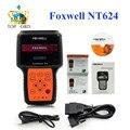 Foxwell NT624 Автомастер Pro Все Делает Все Системы Сканер Автомобильный Диагностический Scan Инструменты OBD2 OBD 2 Автоматический Сканер Универсальный