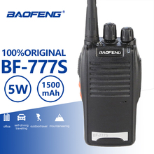 Buy Baofeng BF-777S Portable Walkie Talkie UHF 400-470MHz Portable Radio Comunicador Transmitter Hf Transceiver With BF-888s Headset directly from merchant!