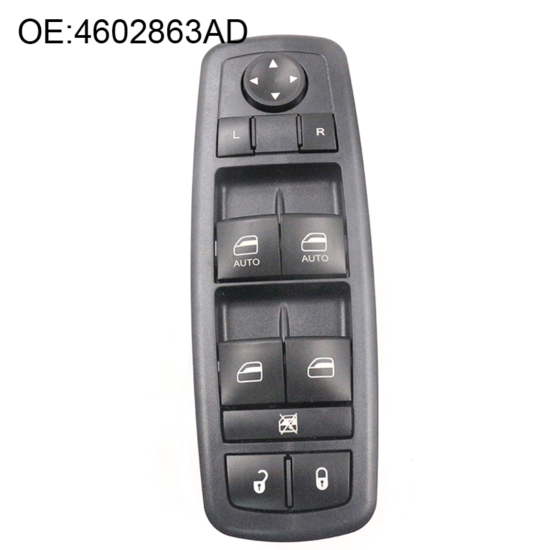 YAOPEI New Power Window Master Switch 4602863AD For 2009-2012 Dodge Ram 1500 2500 3500 Quad & Crew Cab