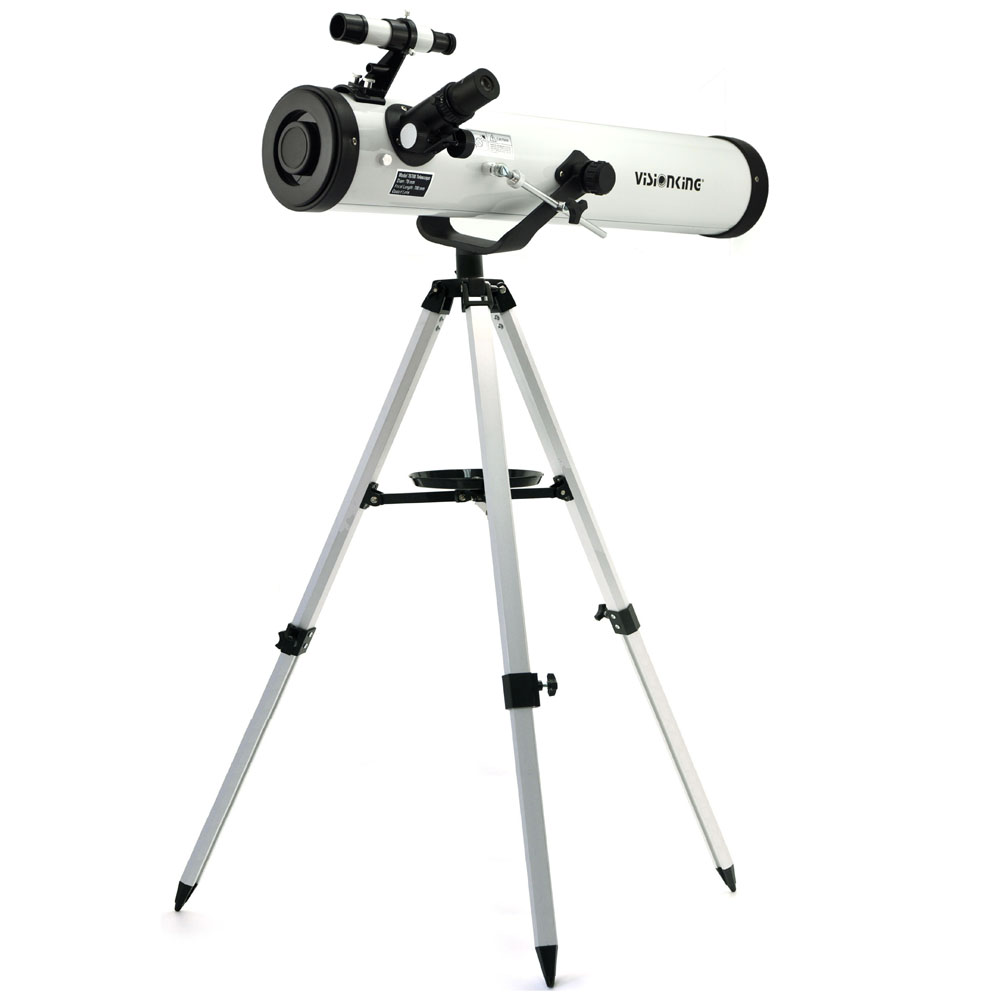 Visionking Reflector 76mm 700mm Astronomy Telescope Sky Observation Newtonian Star Moon Astronomical Monocular With Good Tripod