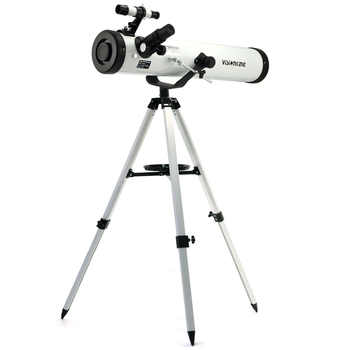 Visionking Reflector 76mm/700mm Astronomy Telescope Sky Observation Newtonian Star Moon Astronomical Monocular With Good Tripod - DISCOUNT ITEM  30 OFF Sports & Entertainment