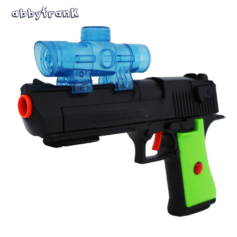 Abbyfrank Plastic Toy Gun Paintball Water Gun Air Soft Pistol Soft Water Bullets Arma Arme Orbeez Toys Sniper Desert Eagle
