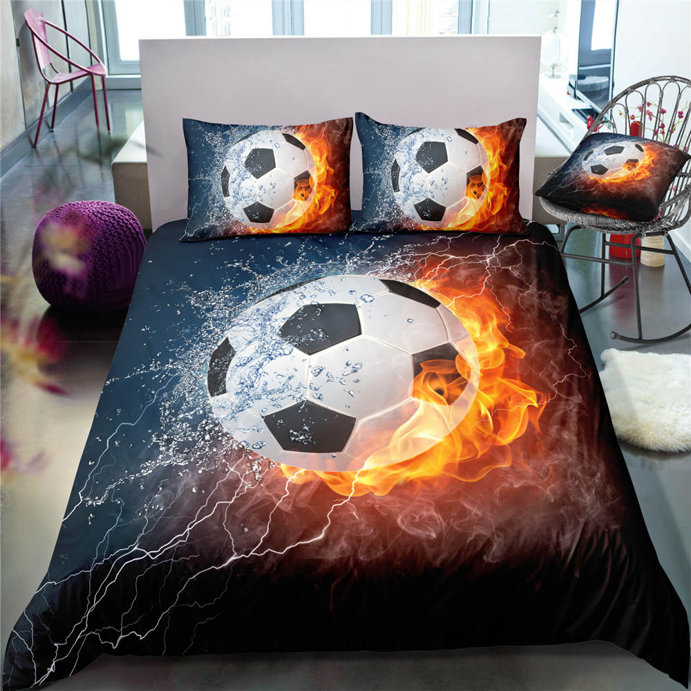 3D Boys Foot Ball Soccer Sports Bedclothes Quilt Comforter Cover Adults Children Twin King Bed Linens Bedding Duvet Cover Set 3D Boys Foot Ball Soccer Sports Bedclothes Quilt Comforter Cover Adults Children Twin King Bed Linens Bedding Duvet Cover Set