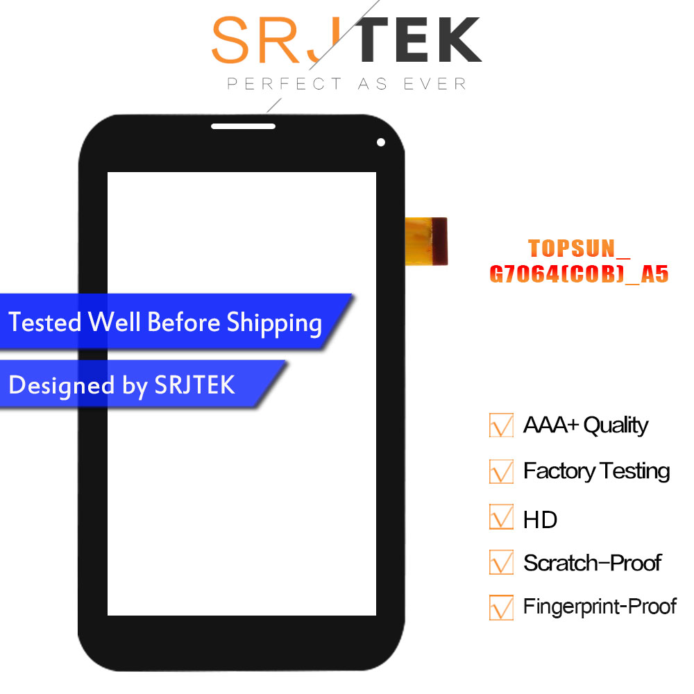 Touch Screen For TOPSUN_G7064(COB)_A5 TOPSUN_G7064(C0B)_A5 Touchscreen Glass Panel Digitizer Glass Sensor Replacement