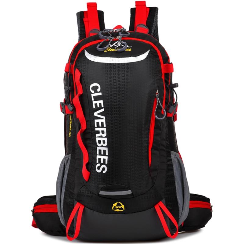 ФОТО New 2017 Women Bag Men Travel Bags Outdoor Sport Camping Hiking Cycling Bag Trail Running Backpack Waterproof Gym Bag 36-55L 28