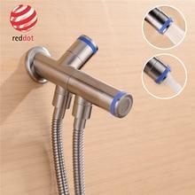 Magnetic Double Mode Toilet Bidet Hand Held  Sprayer Shattaf Douche Kit Shower Set Cold Tap ,Red Dot Award