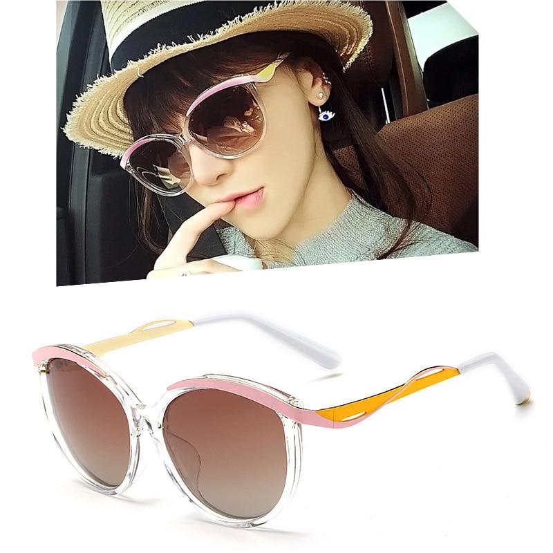 Designer Metal Eyes 1F Mirroed Lens Women Sunglasses Oval Shades Female  Glasses Cat Eye Oculos De Sol Retro 4bcd9807ec