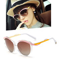 Designer Metal Eyes 1F Mirroed Lens Women Sunglasses Oval Shades Female Glasses Cat Eye Oculos De Sol Retro
