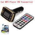 Kit de Coche Reproductor de MP3 Transmisor Inalámbrico de FM Modulador USB SD TF MMC LCD Remoto