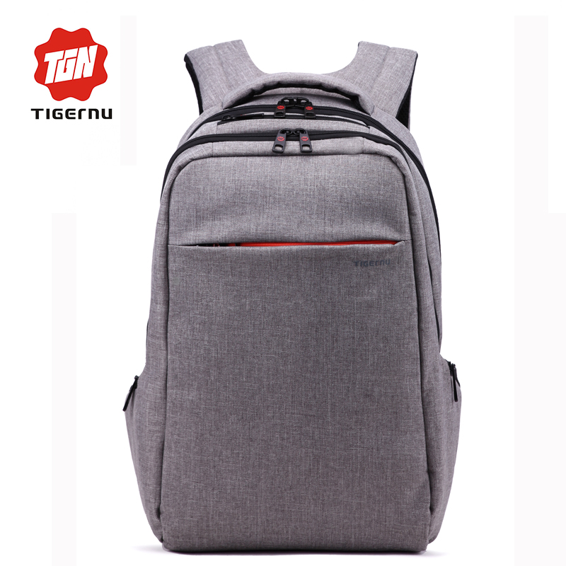 ФОТО Tigernu Brand 15 Inch Laptop Computer Notebook Backpack Brand Men's Backpacks Designer Large Capacity School Bags for women