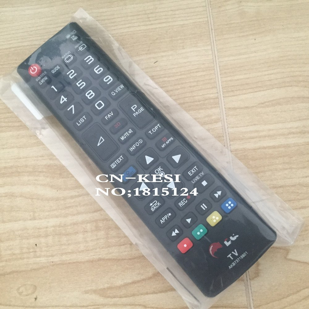 CN-KESI (NEW) REPLACEMENT NEW TV remote control fit For LG AKB73715601 AKB73975728 AKB73715603 LED LCD TV REMOTE цена
