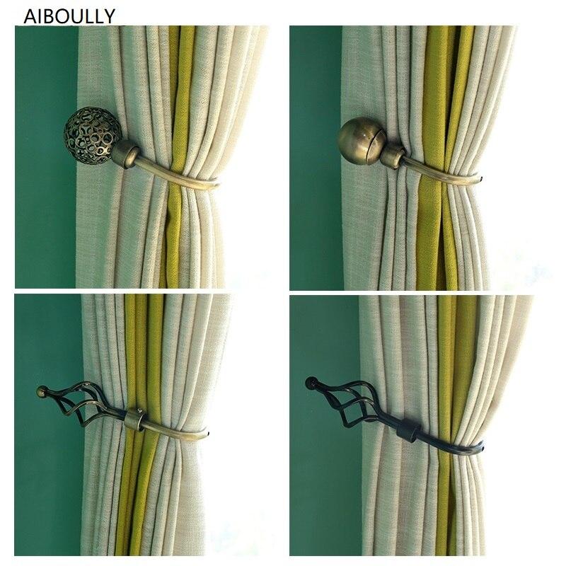 Aiboully 2 Stks/set Gordijn Houder Gordijn Decoratieve Accessoires Luxe Gordijn Kwastje Tieback Cortina Terugloopsper Houders Modieuze (In) Stijl;