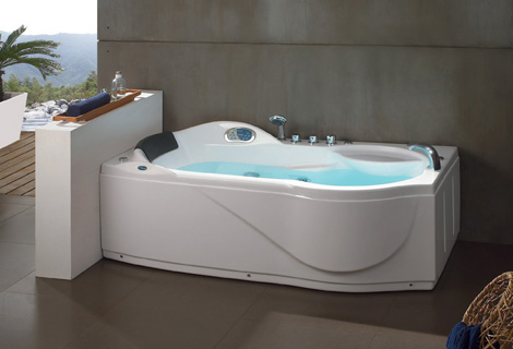 Right / Left Skirt Fiber Glass Acrylic Whirlpool Bathtub Hydromassage Tub  Nozzles Spary Jets Spa RS6129D