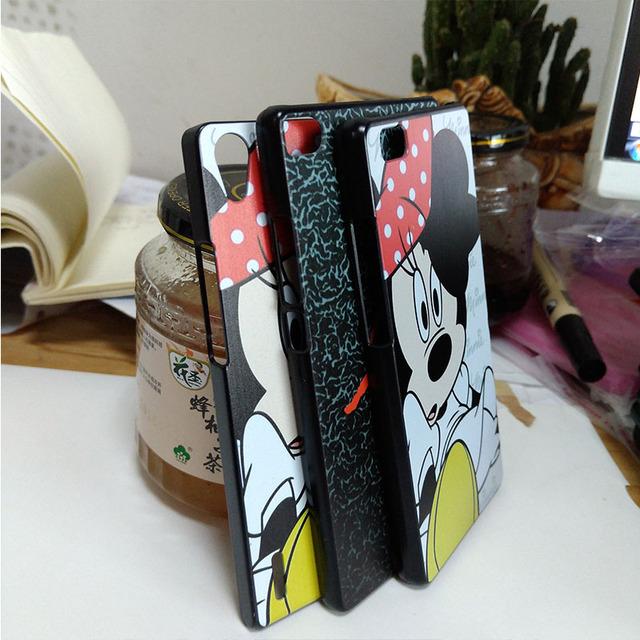 Luxury basketball star 23 Jordan logo phone cases for Huawei P8 lite case black cover