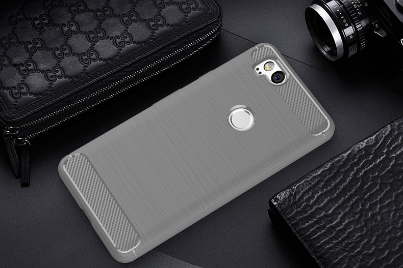 Carbon Fiber Cases For Google Pixel 2 Case Silicone Soft TPU Coque For HTC Pixel 2 Cover Black Bag Skin Pixel2 5.0 Inch