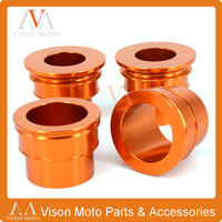 CNC Front Rear Wheel Hub Spacers For KTM SX SXF XCF EXC EXCF EXCW XCW SMR