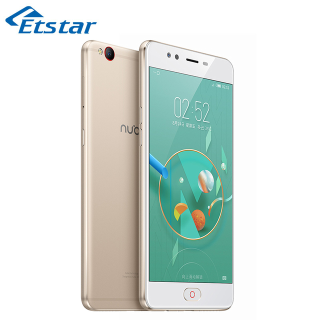 Original ZTE Nubia M2 Lite 5.5'' MobilePhone MTK MT6750 Quad Core 3GB RAM 64GB ROM 16.0MP Camera Dual SIM Card FDD-LTE B20