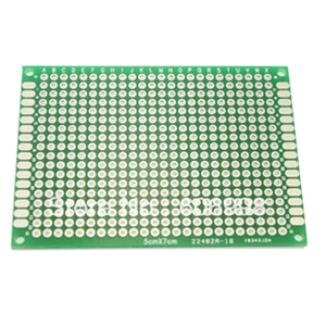 4 قطعة/الوحدة 4x6 5x7 6x8 7x9 ضعف الجانب PCB النموذج العالمي المطبوعة لوحة دوائر كهربائية Protoboard لاردوينو