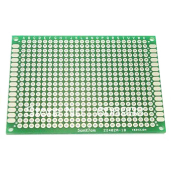 4pcs/lot 4×6 5×7 6×8 7×9 Double Side Prototype PCB Universal Printed Circuit Board Protoboard For Arduino
