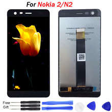 Original for NOKIA 2 display digitizer screen for Nokia 2 lcd display touch screen assembly TA-1029 TA-1035 lcd screen replace недорго, оригинальная цена