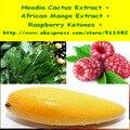 300 gram Hoodia Cactus Extracto + Polvo de Extracto de Mango Africano + Cetonas de Frambuesa Complejo envío libre