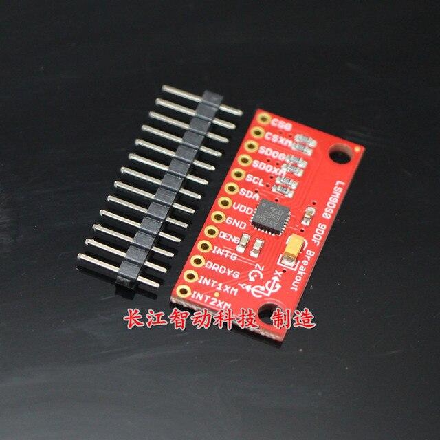 ИДУ LSM9DS0 датчик 9DoF высокая точность интегрированы 9 ось отношение датчик SPI/I2C