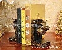 Simulatie herten boek door C ambachten decoratieve gift ornamenten thuis studie leraar dier zachte ornamenten