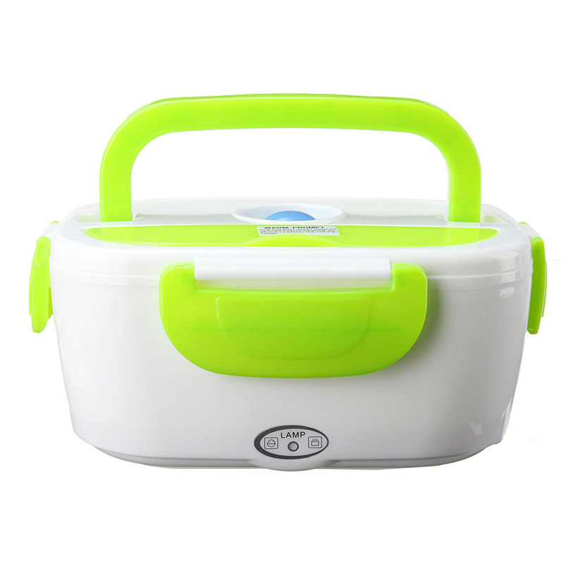 50263aff4cf3 US $24.9 |Electric Portable 1.2L 12V Heated Car Plug Heating Lunch Box Set  Food Warmer Bento With For kids School Office Home-in Lunch Boxes from Home  ...
