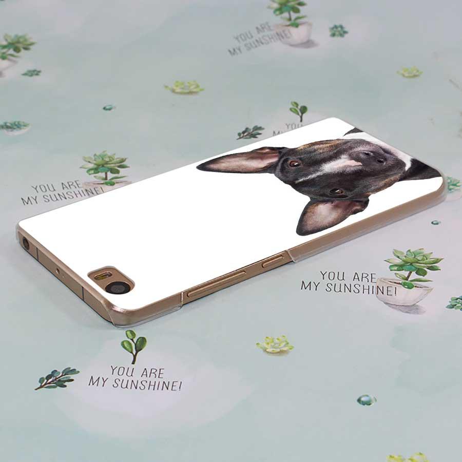 MOUGOL Bullterrier bull terrier transparent Case Cover Shell for Xiaomi Redmi Note MI A1 4X 5 5A 4 4A 3 Plus 5X