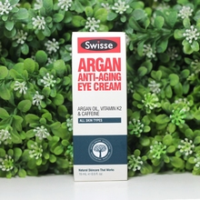 Australia Swisse Argan Oil Anti-Aging Eye Cream Fine Lines Anti Wrinkle Treatment for Dark Circles Firm Lift Tighten Area