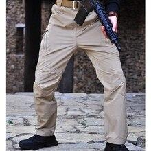Уличные водонепроницаемые быстросохнущие легкие брюки карго для мужчин и женщин армейские военные охотничьи Походные штаны для рыбалки