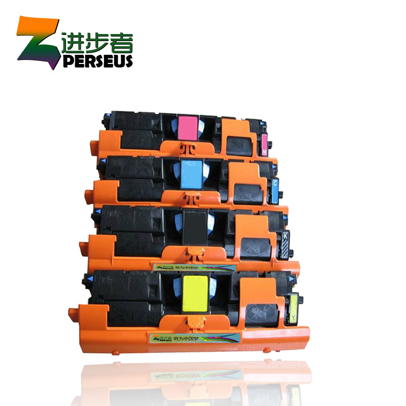 PERSEUS TONER CARTRIDGE FOR HP Q3960A Q3961A Q3962A Q3963A COLOR FULL HP LASERJET 2550 2820 2830 2840 PRINTER GRADE A+