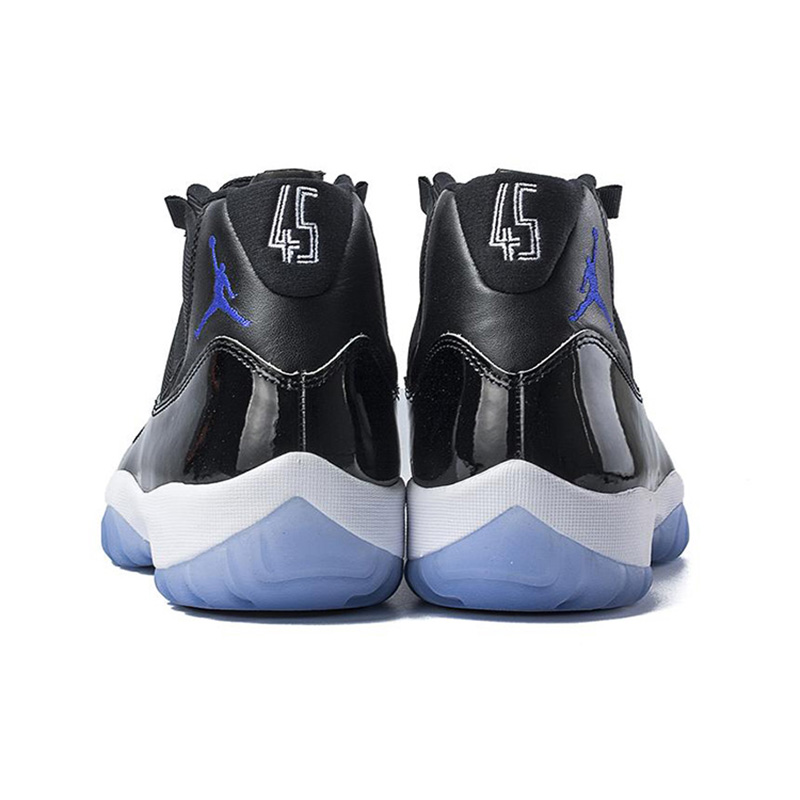 a7bd910d51eb0f Original Nike Air Jordan 11 Space Jam Breathable Men s New Arrival  Authentic Basketball Shoes Sports Sneakers 378037 003-in Basketball Shoes  from Sports ...