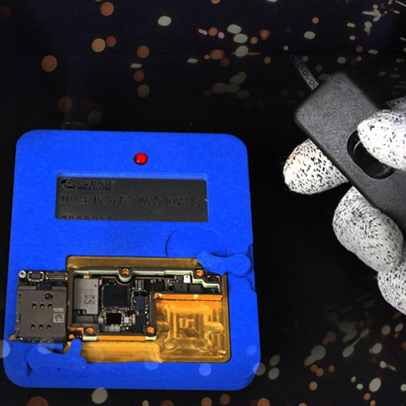 最新 iphone × ミニメインボード暖房恒温メンテナンステーブル NAND CPU チップ脱ガム  グループ上の ツール からの 電動工具セット の中 1