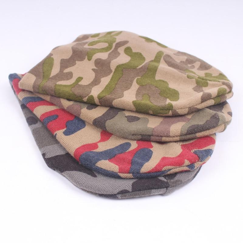 2017 Brand New Soft Warm Cotton Camouflage Mens