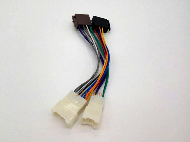 iso standard wiring harness radio adapter for toyota 1984 lexus rh aliexpress com Car Wiring Harness Wiring Harness Connectors