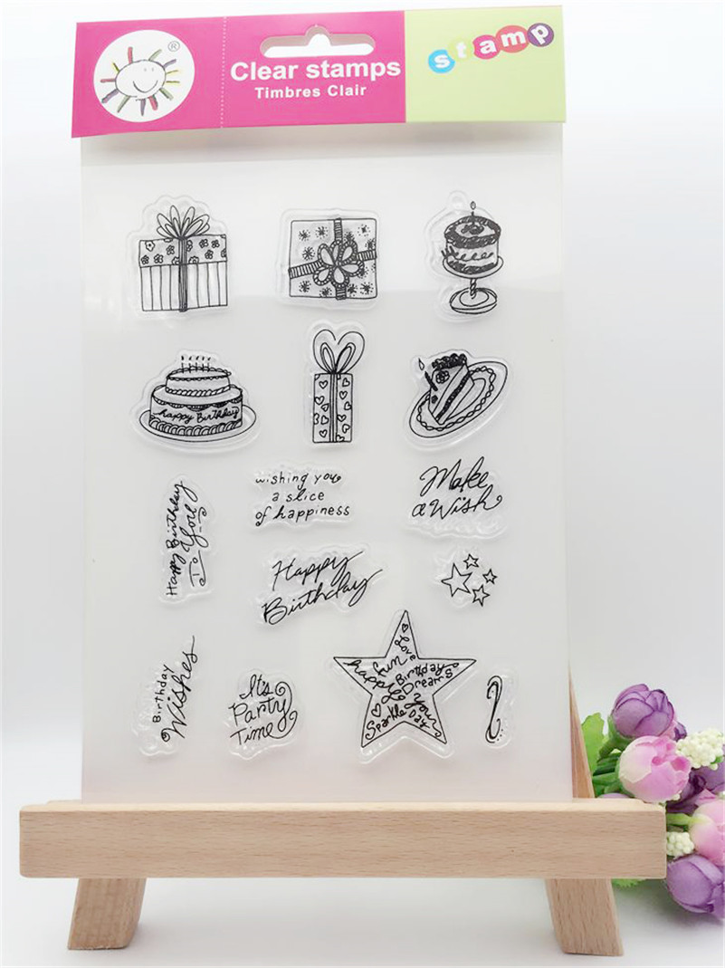 a variety of gift design Clear Rubber Stamp Transparent Stamp DIY Scrapbooking Card Making paper card Decor  LL-172 angel and trees clear stamp variety of styles clear stamp for diy scrapbooking photo album wedding gift ll 163