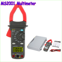 MASTECH MS2001 1000A Digital AC Clamp Meters AC DC Voltmeter AC Ammeter Ohmmeter Insulation Tester W