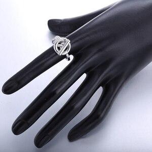 Image 5 - Slovecabin Vintage Menเครื่องประดับแท้925เงินสเตอร์ลิงล็อคแหวนBague Femme Marage Argentแหวน