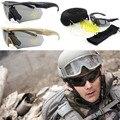 Ess Glasses TR90 Military Tactical Glasses Bulletproof Sunglasses UV 400 3 Lens Eyewear Men's Eyewear Shooting Glasses