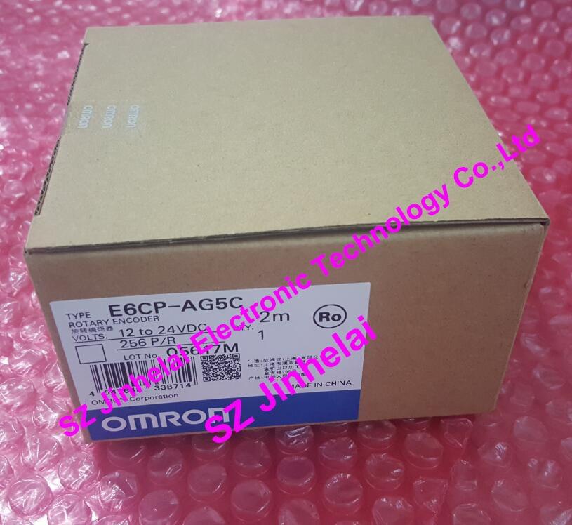E6CP-AG5C   256P/R  New and original  OMRON  ROTARY ENCODER  12-24VDC   2M [zob] 100% new original omron omron proximity switch e2e x10d1 n 2m