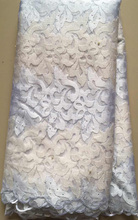 African Lace Fabric / Embroidered Nigerian Lace