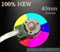40MM diameter projector color wheel for optoma DM3503 DM360 DK3501 6 color