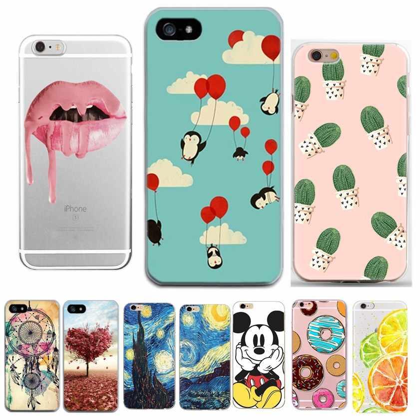 Capas For coque iphone 8plus 7plus Cases Cute Funda Case For iphone 5 5S SE 6 S 6S 7 8 Plus X XS Cases phone accessories