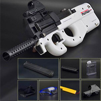 Live CS P90 Toy Rifle Gun Paintball Assault Snipe Weapon Soft Water Bullet Pistol With Bullets