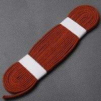 Useful Sword Fitting Red-brown Ito Sageo Cotton Cord for Samurai Sword Knives Japanese Katana Wakizashi Tanto M2