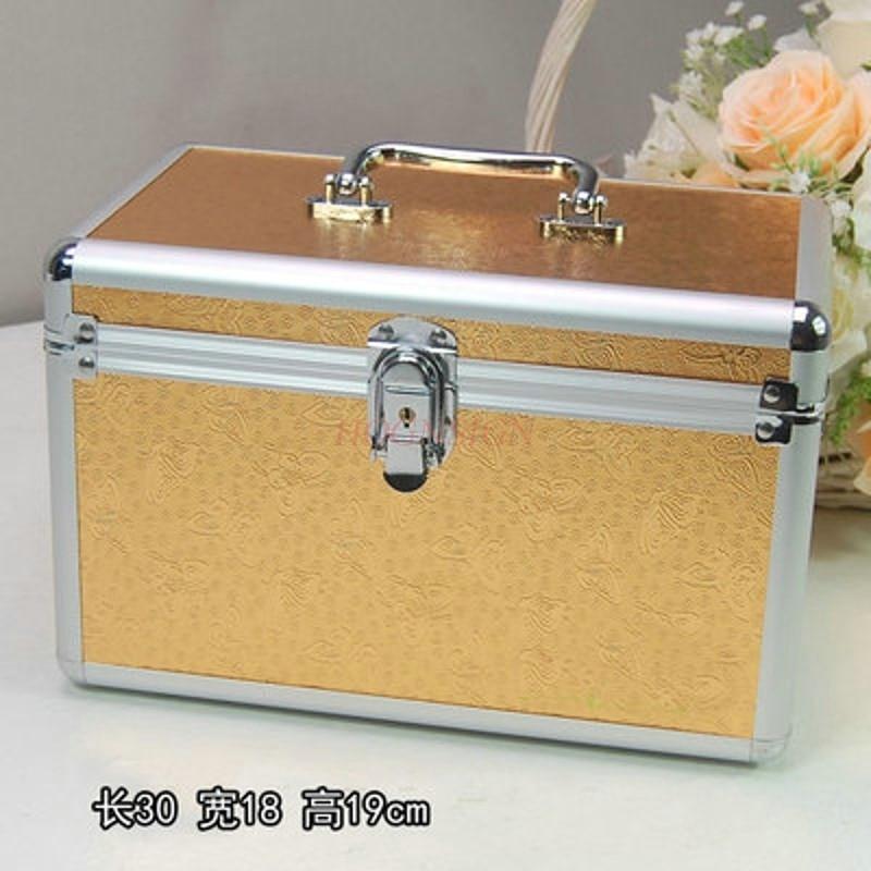 Cosmetic case nail kit pedicure makeup box foot bath technic