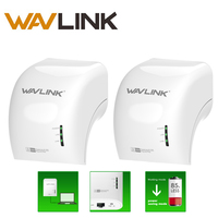 Wavlink AC500 Wireless Powerline Extender Wifi Kit Wired 500 Mbps Wireless 300Mpbs With One Ethernet Port